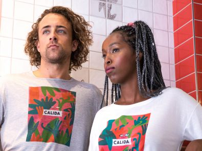 Calida lanceert capsule T-shirt-collectie met New Yorkse illustrator
